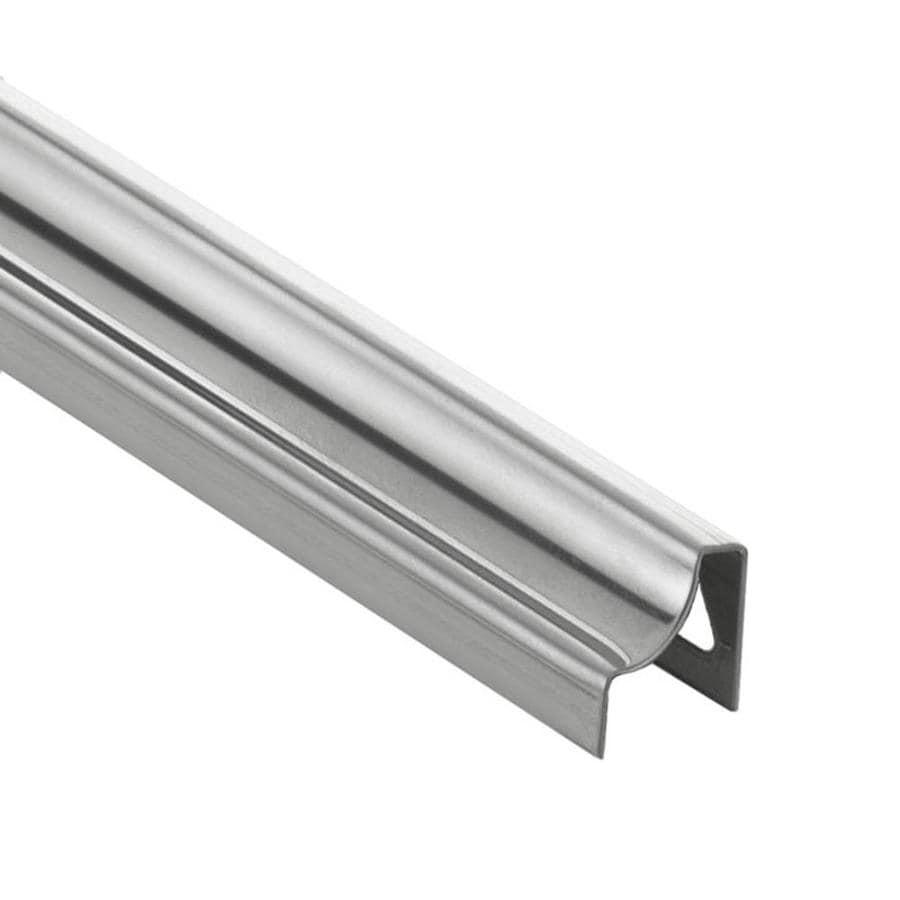 schluter systems dilex hku 0 313 in w x 98 5 in l stainless steel cove base tile edge trim