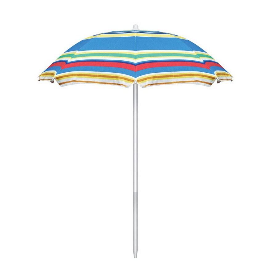 ft multicolor patio umbrella