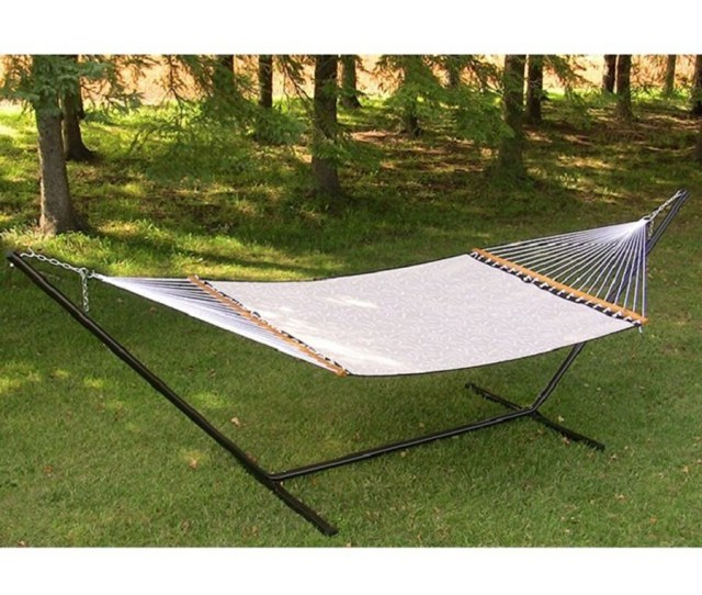 Vivere 180 In L Steel Hammock Stand