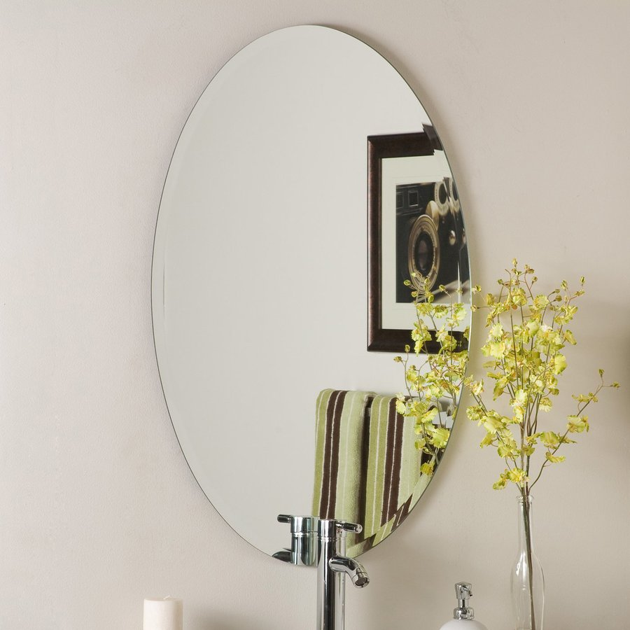 Decor Wonderland 236 In Oval Bathroom Mirror At