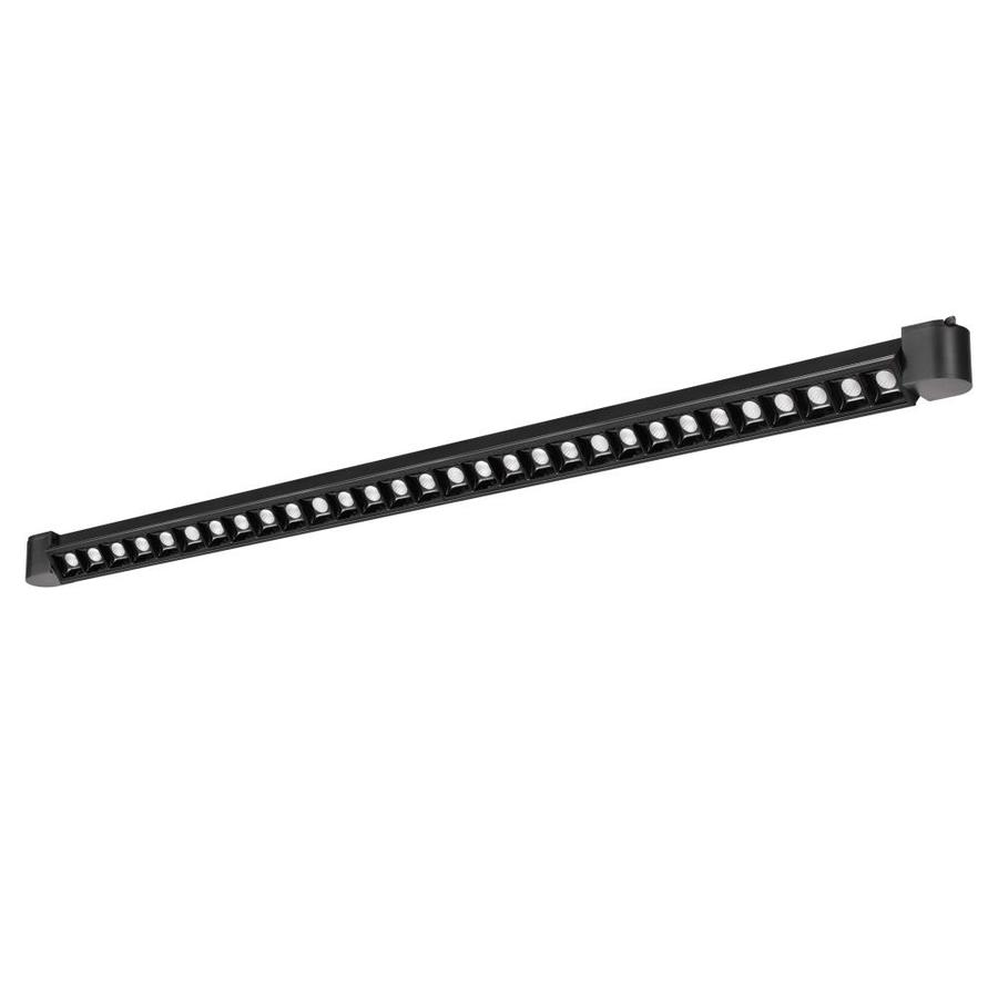 cal lighting black integrated led track wall washer