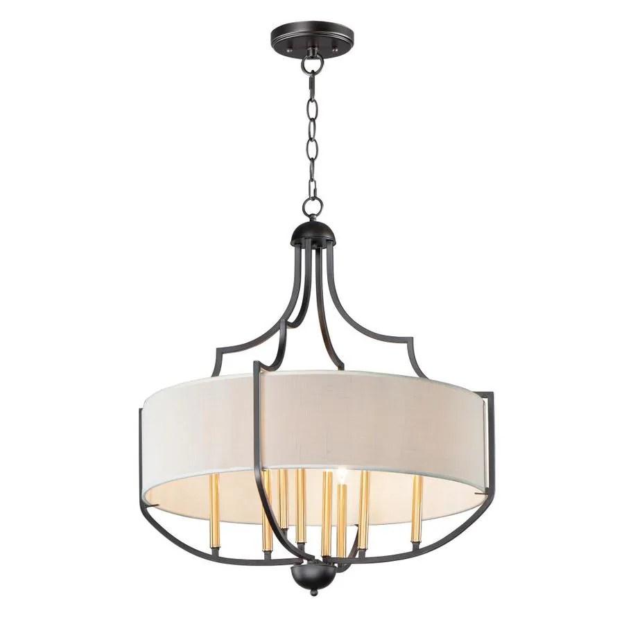 maxim lighting savant 8 light bronze antique brass craftsman chandelier