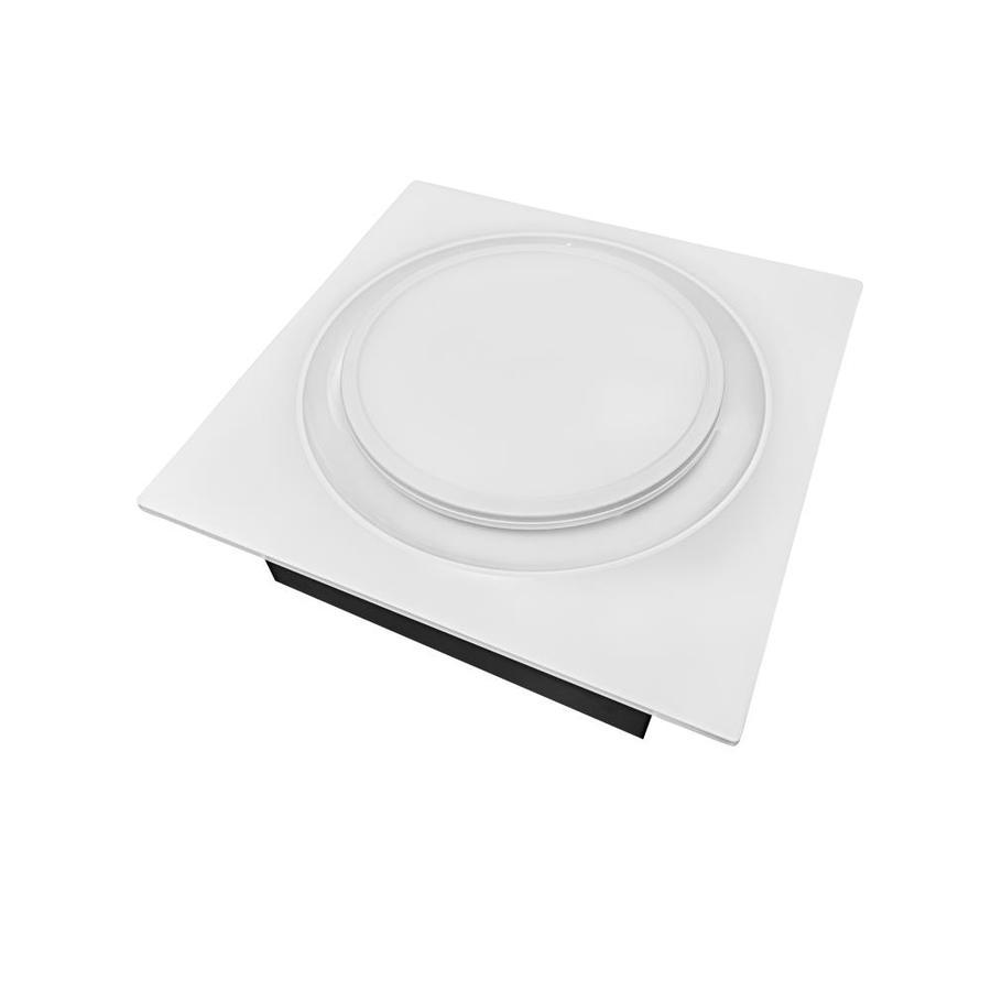 aero pure aero pure quiet adjustable speed 50 110 cfm bathroom exhaust fan with led light and night light energy star fits 2x4 joist