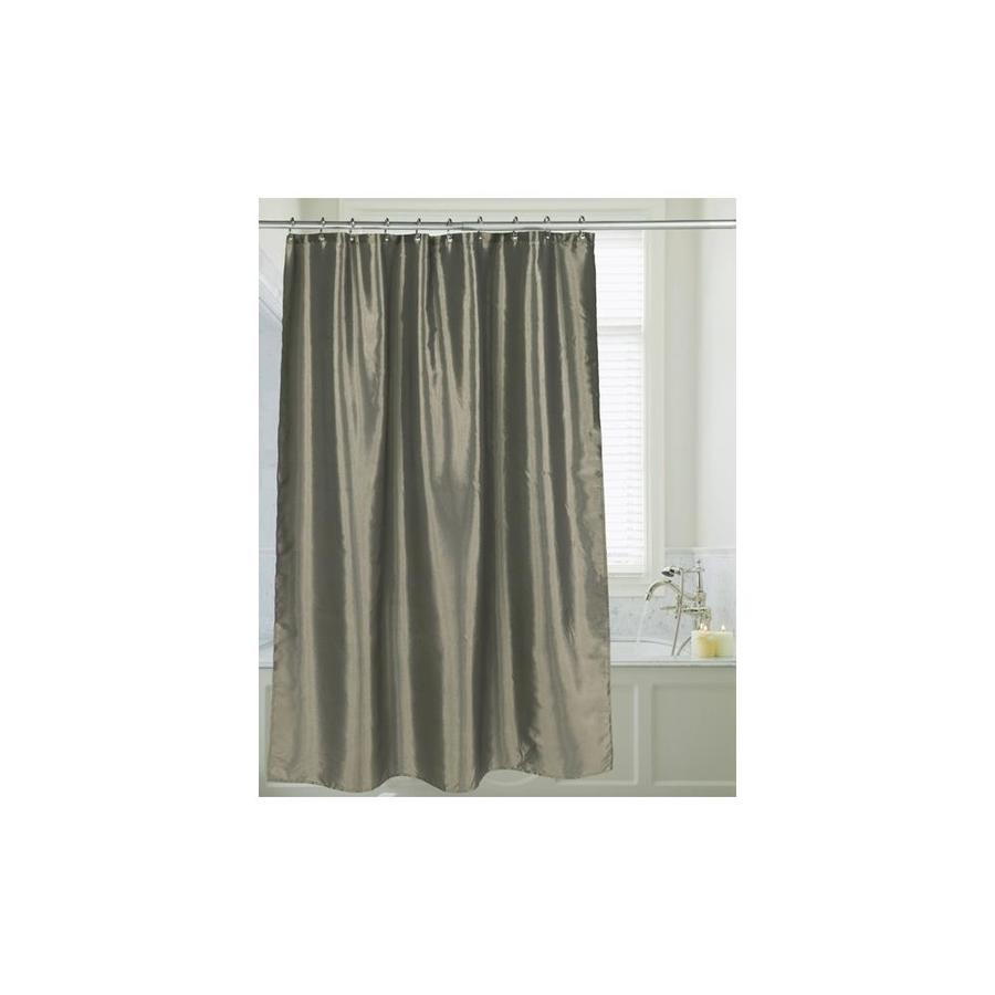 carnation home fashions fsc15 fs 42 72 x 72 in shimmer faux silk shower curtain sage in the endless aisle department at lowes com