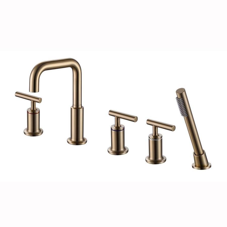 handle widespread bathroom sink faucet