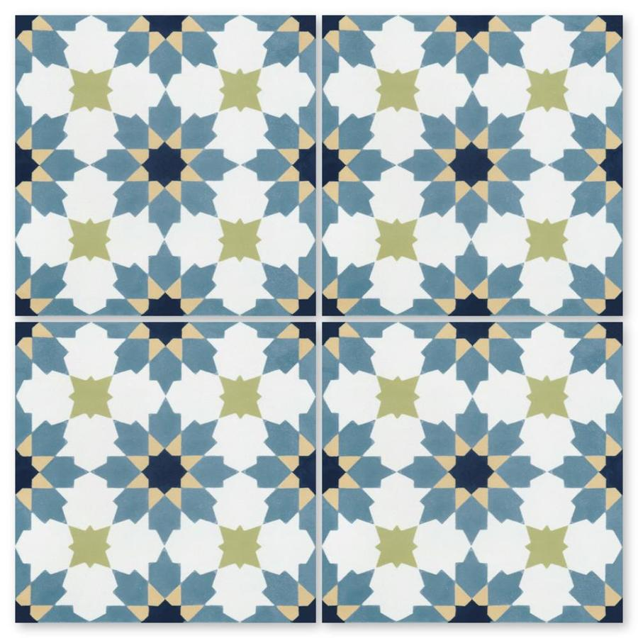 villa lagoon tile south beach 8 in x 8 in matte cement encaustic floor and wall tile sample