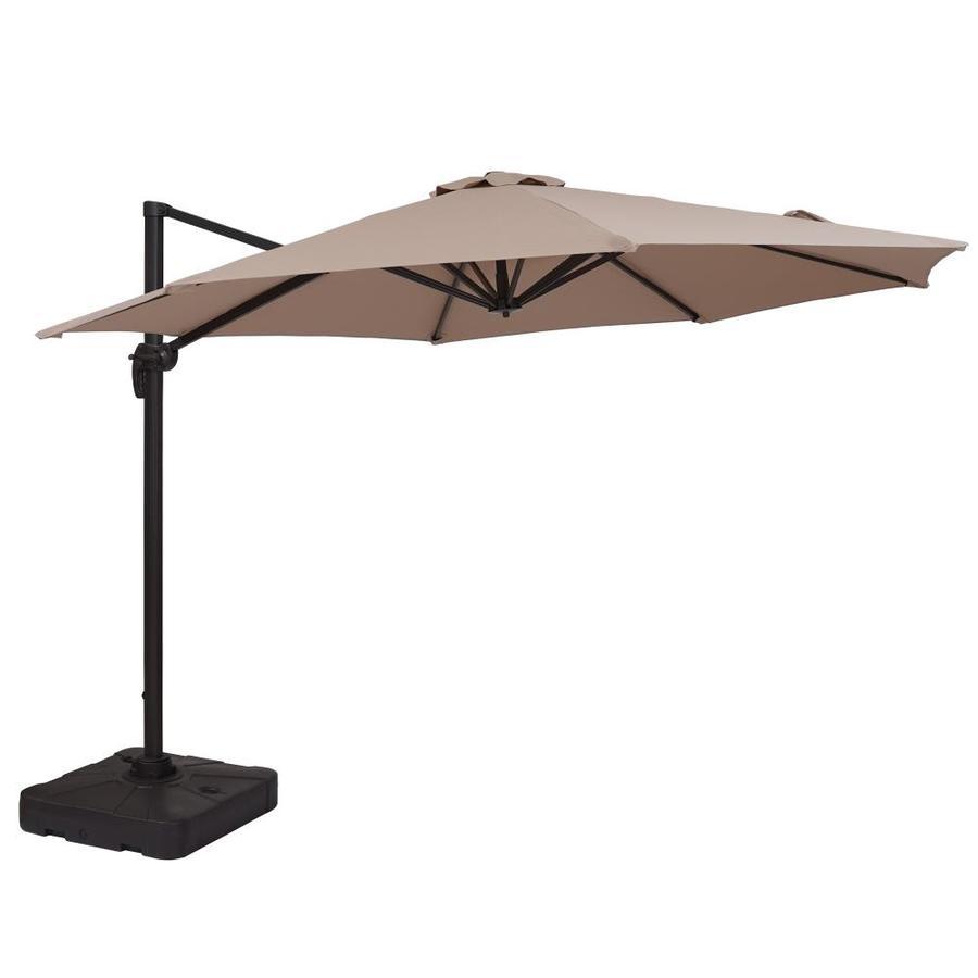 cantilever patio umbrellas at lowes com