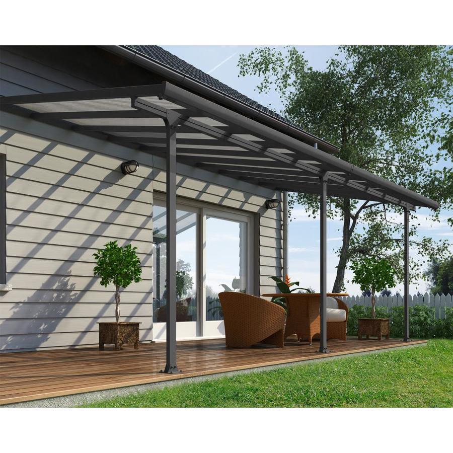 clear aluminum patio cover