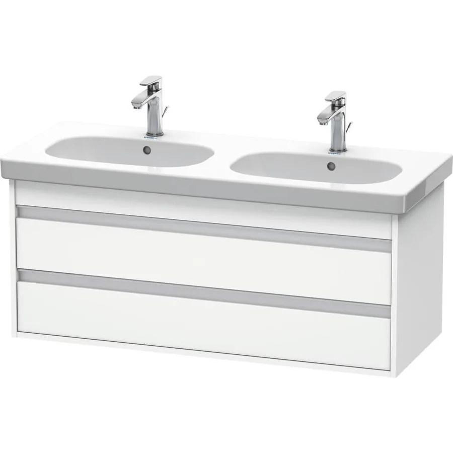 duravit ketho 45 in white matte bathroom vanity cabinet
