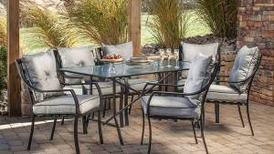 Shop Hanover Outdoor Furniture Lavallette 7 Piece Brown