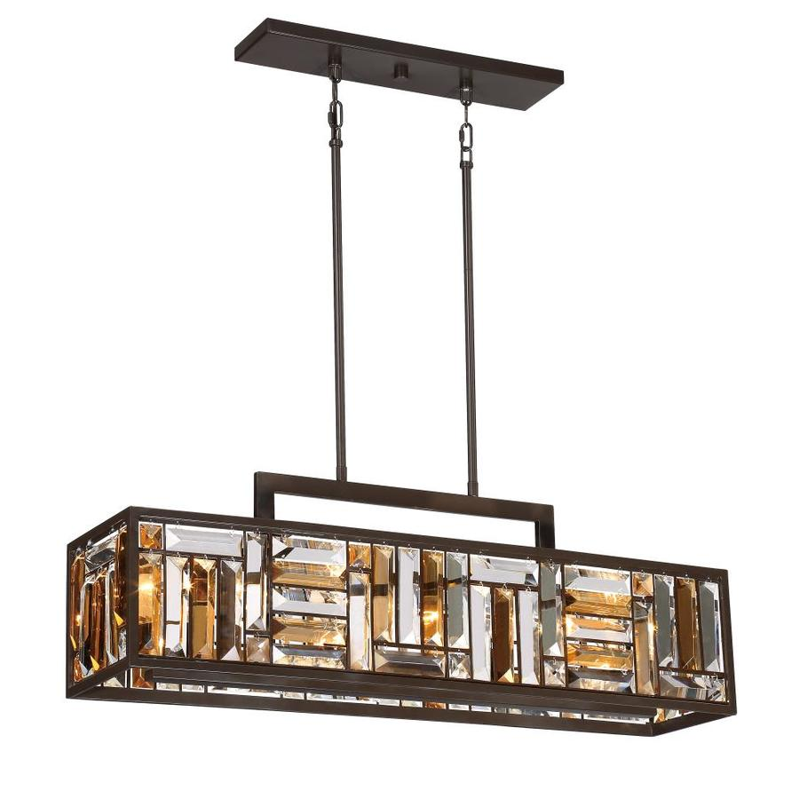 https www lowes com pd quoizel crossing bronze casual transitional kitchen island light 1000208425