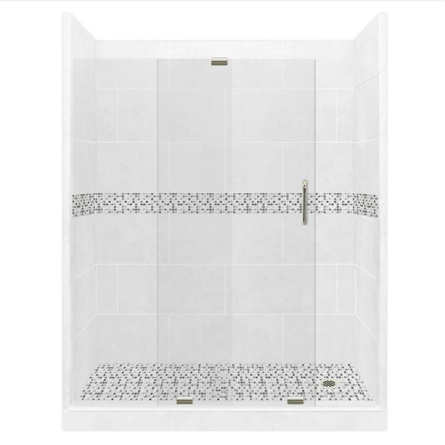 alcove shower kit in the shower stalls