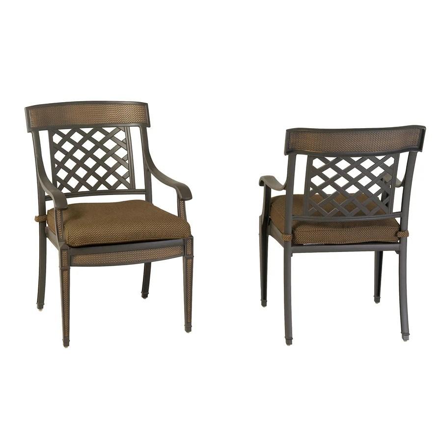 herrington aluminum patio dining chairs