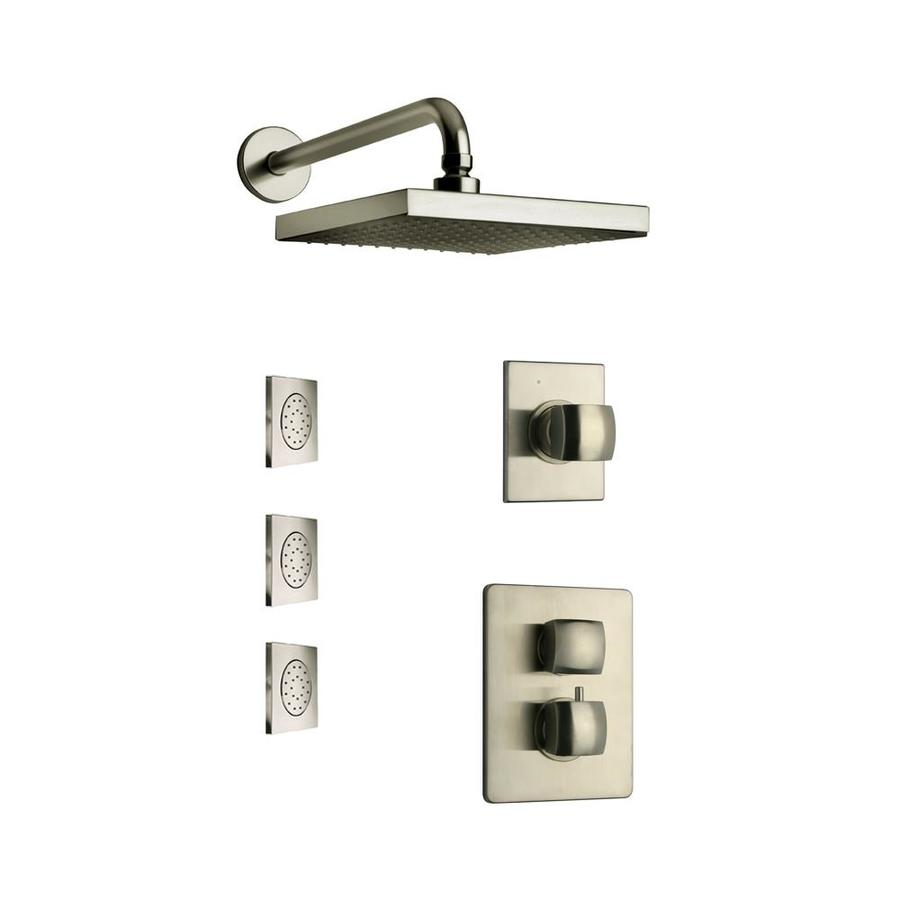 handle shower faucet with valve