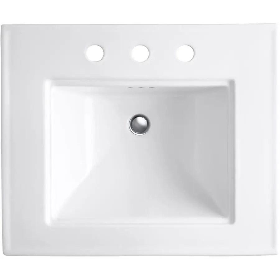 pedestal sink lowes canada