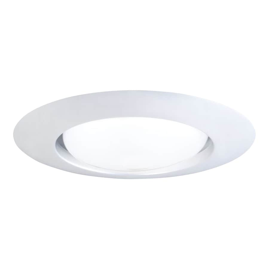 halo 6 in white open recessed light trim in the recessed light trim department at lowes com