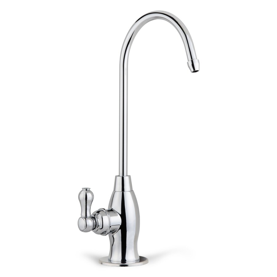 ispring gk1 chr chrome drinking water faucet polished chrome cold water dispenser with hi arc spout