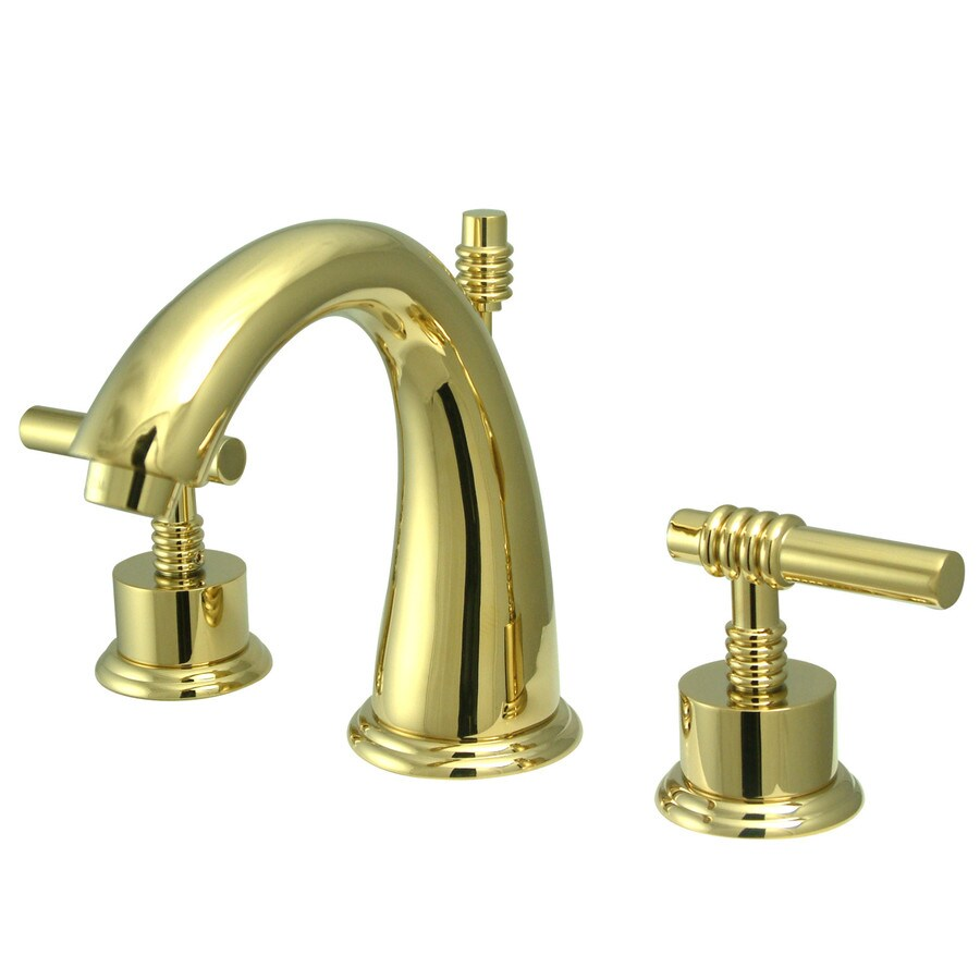 kingston brass milano polished brass 2