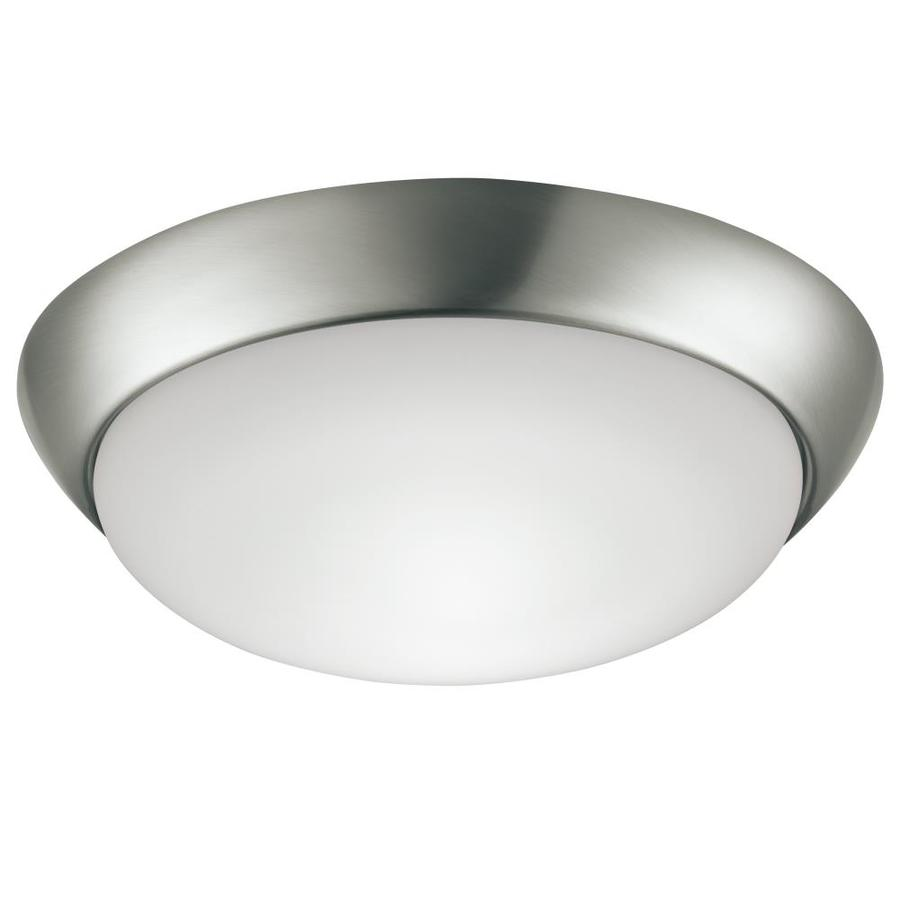 project source 11 in brushed nickel glam flush mount light energy star