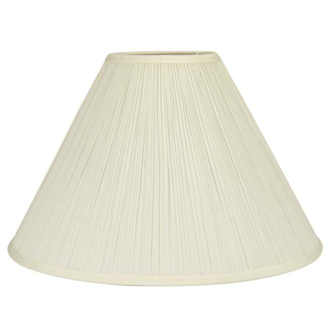 Allen Roth 12 5 In X 18 Cream Fabric Bell Lamp Shade