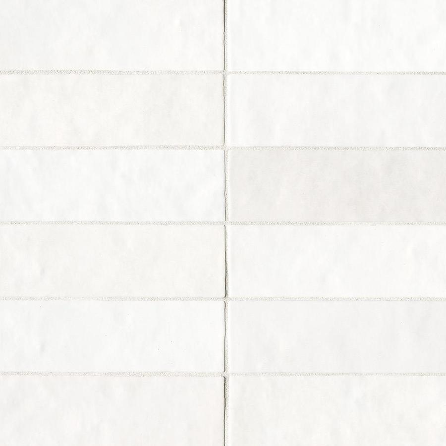 bedrosians cloe 76 pack white 2 1 2 in x 8 in glossy ceramic subway wall tile
