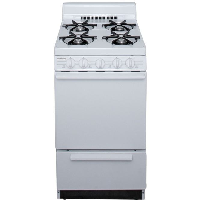 Holiday 20 In 4 Burners 2 Cu Ft