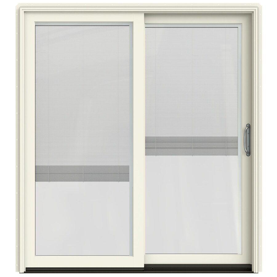 Shop Jeld Wen Blinds Between The Glass French Vanilla Clad