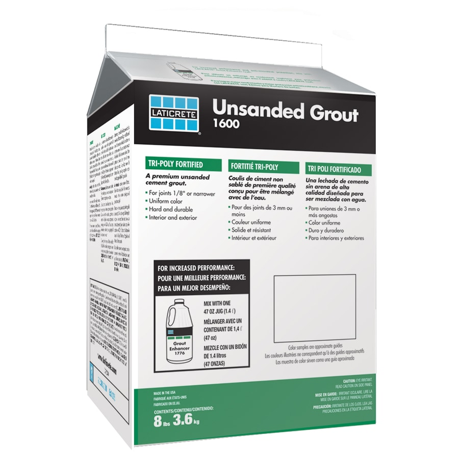 The ultimate one-step polymer fortified thin-set mortar for interior and exterior installation of ceramic tile porcelain tile Gauged Porcelain Tile PanelsSlabs GPTP stone quarry tile pavers and brick. Laticrete 8 Lbs Platinum Unsanded Powder Grout In The Grout Department At Lowes Com