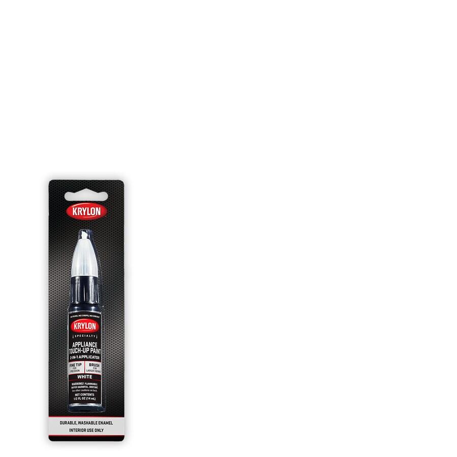 krylon gloss white spray paint net wt 0 5 oz lowes com
