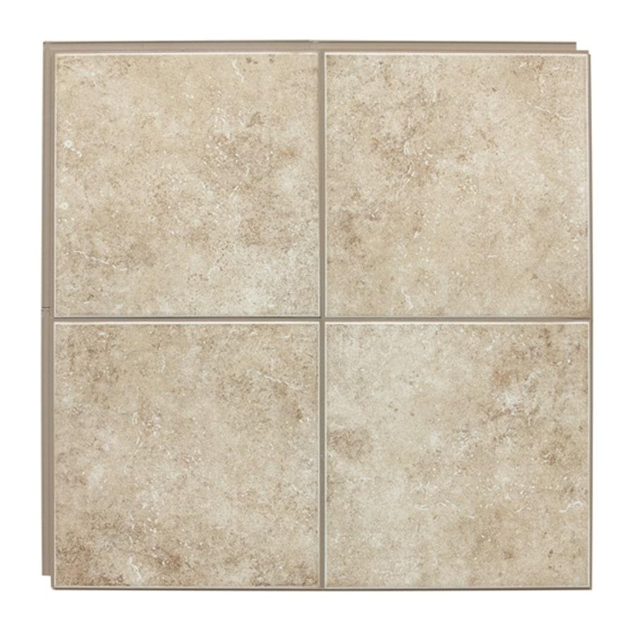 american olean 12 x 12 stilelock cream glazed porcelain floor tile