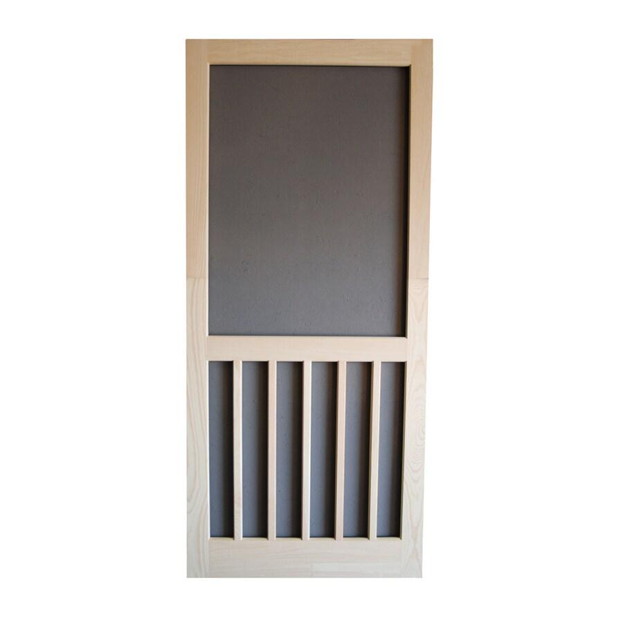 5 bar hinged screen doors at lowes com