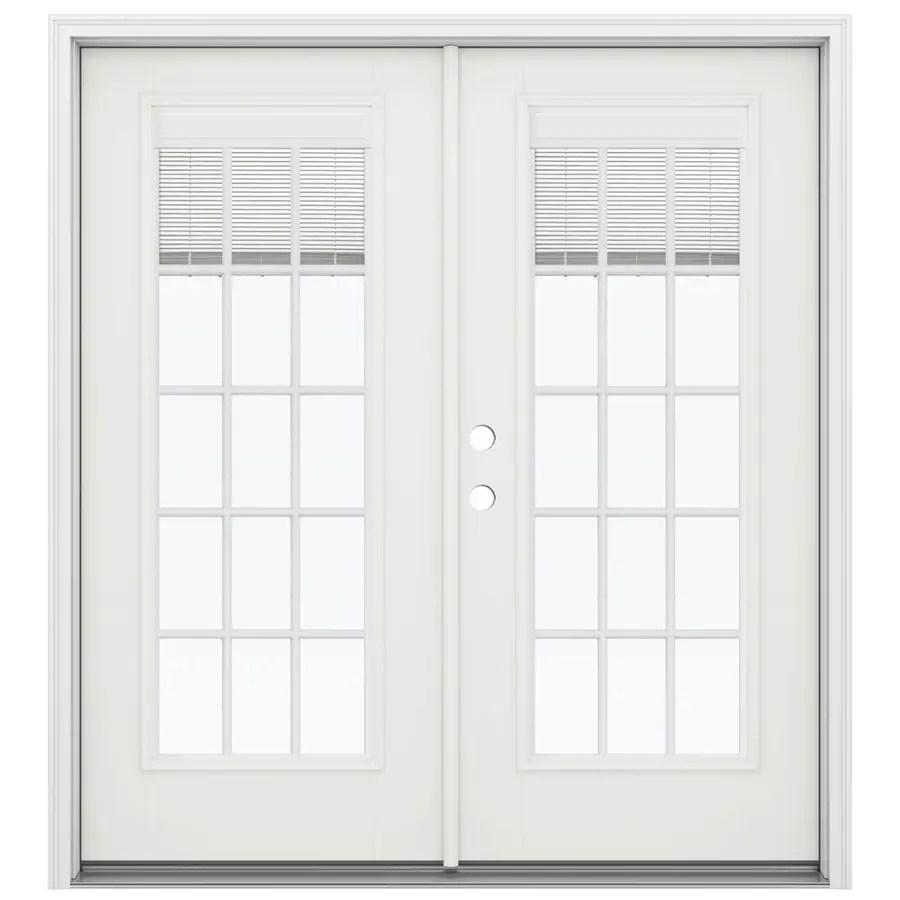 Shop Jeld Wen 71 5 In X 79 5 In Blinds Between The Glass