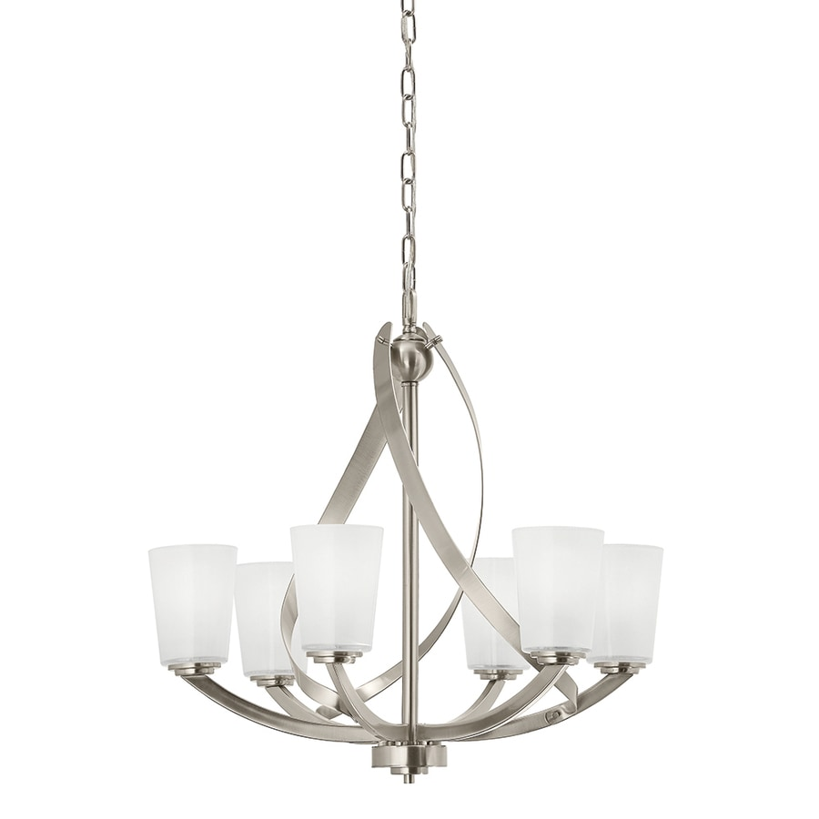 nickel chandeliers at lowes com