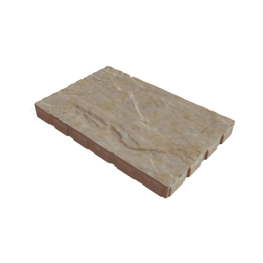 grand stone 24 in l x 16 in w x 2 in h patio stone