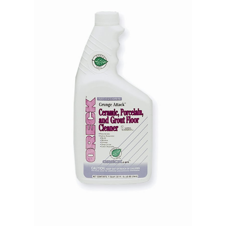 oreck grout cleaner in the grout