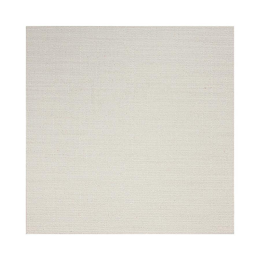 american olean infusion 12 pack white fabric 12 in x 12 in linen look porcelain patterned floor and wall tile