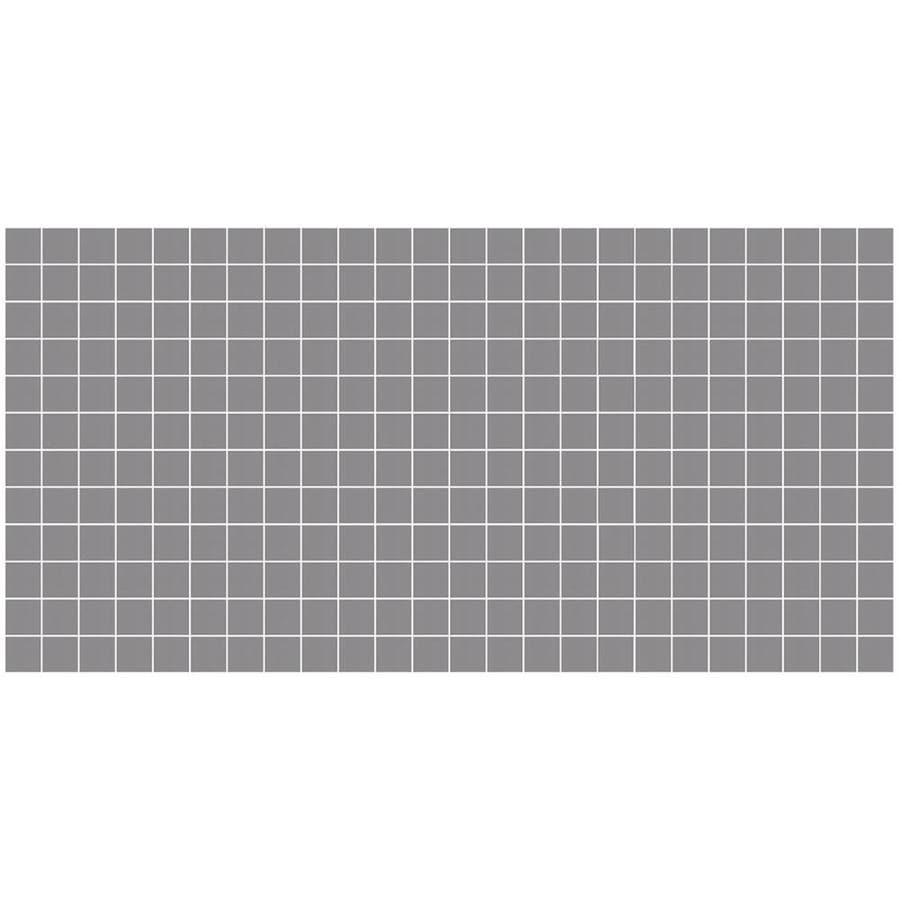 https www lowes com pd american olean unglazed porcelain mosaics 12 pack storm gray 12 in x 24 in unglazed porcelain uniform squares mosaic tile 50093150