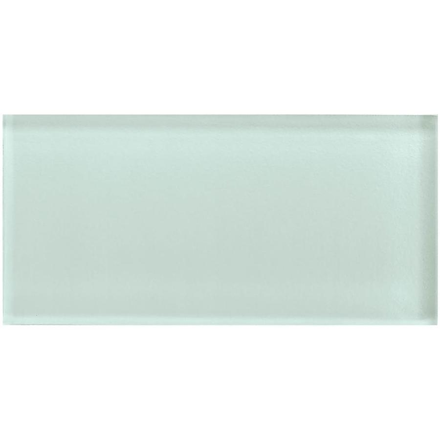 american olean color appeal 32 pack vintage mint 3 in x 6 in unglazed glass subway wall tile lowes com
