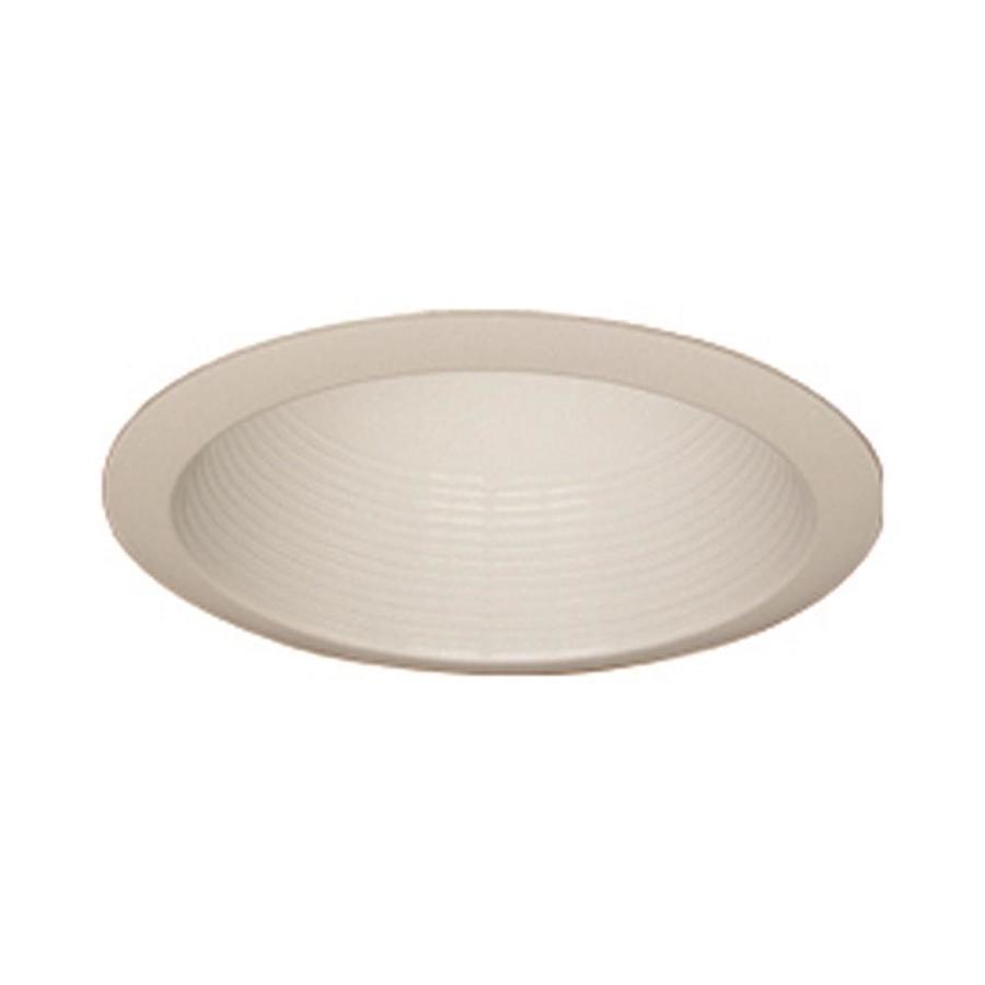 volume lighting 6 in white baffle recessed light trim