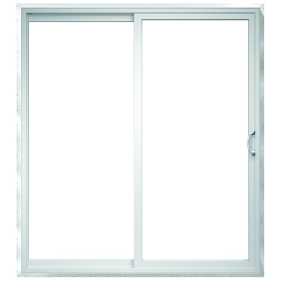 clear glass patio doors at lowes