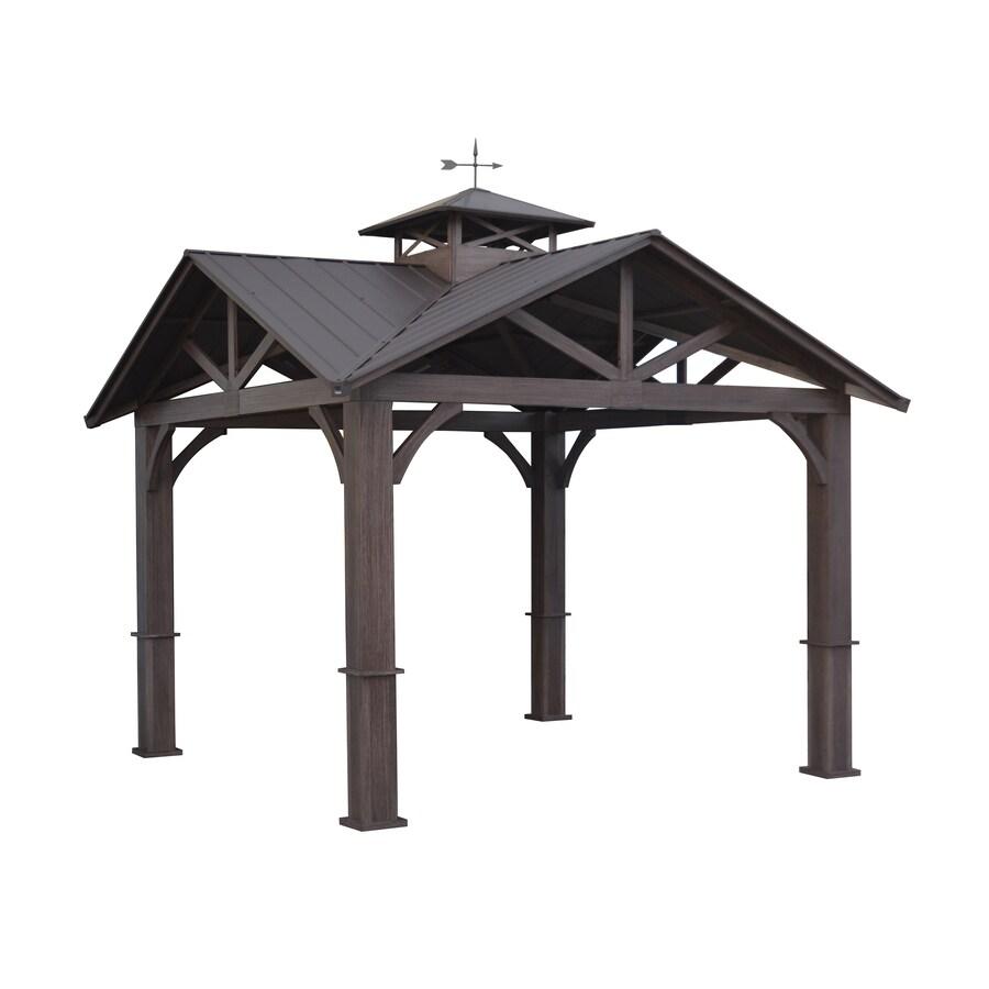 gazebos pergolas canopies at lowes com