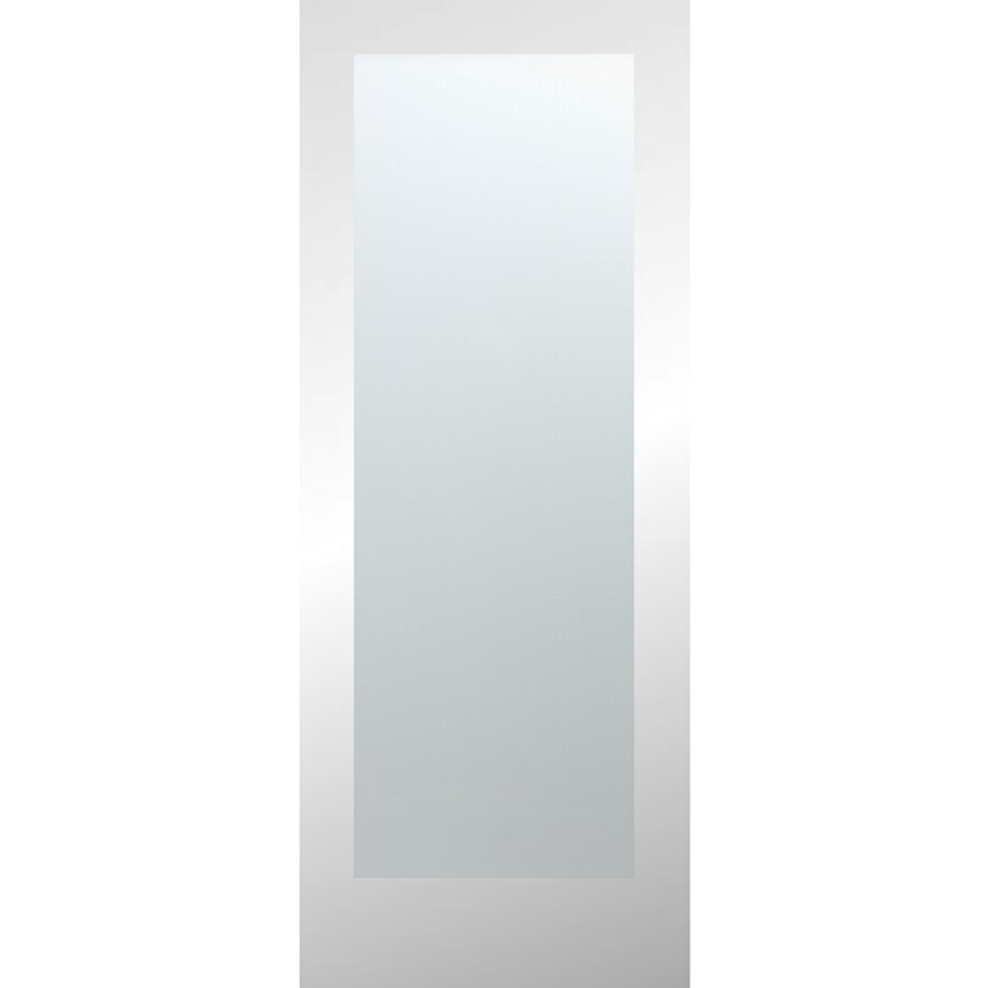 Reliabilt Laminate White 1 Panel Solid Core Wood Slab Door