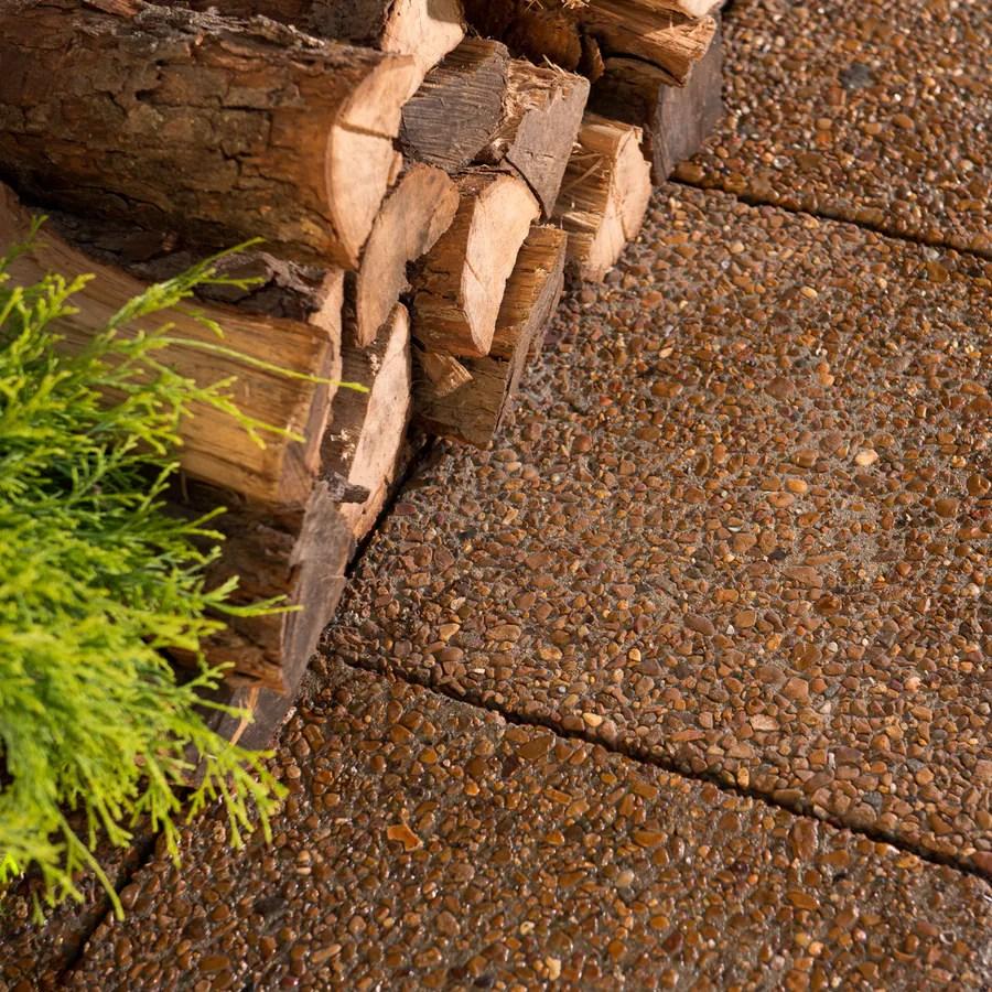 river stone patio stone 18 in l x 18 in