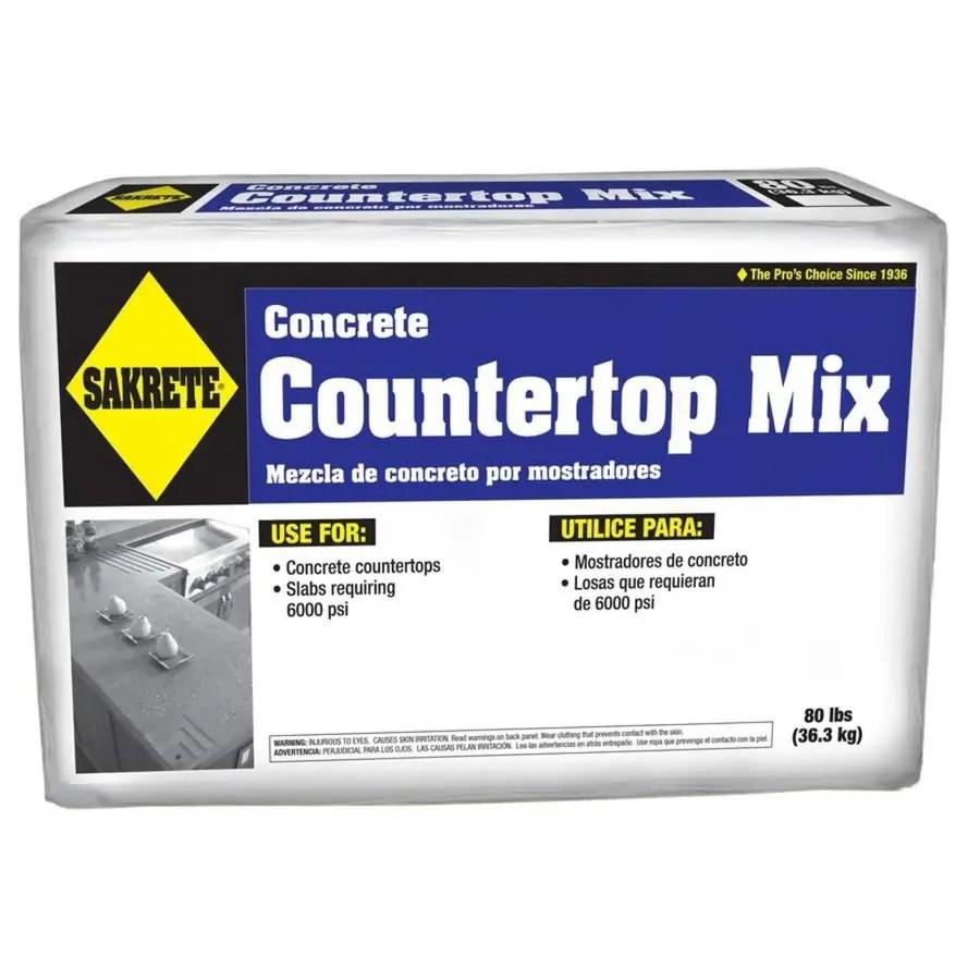 Shop Sakrete Countertop 80 Lb High Strength Concrete Mix