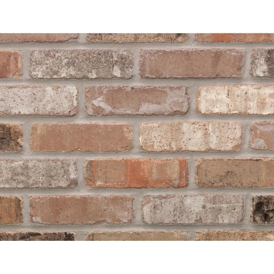 general shale providence series 50 pack carbon 1 2 in x 8 in tumbled ceramic brick look wall tile