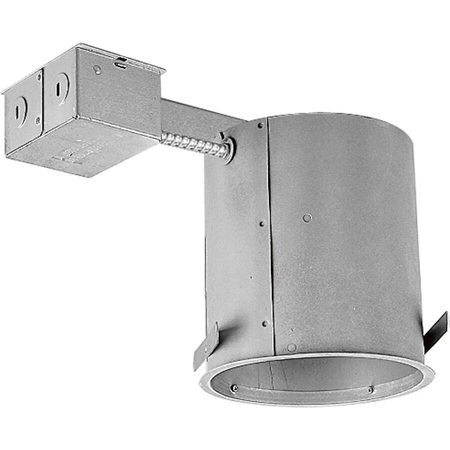 progress lighting remodel ic 6 in recessed light housing lowes com