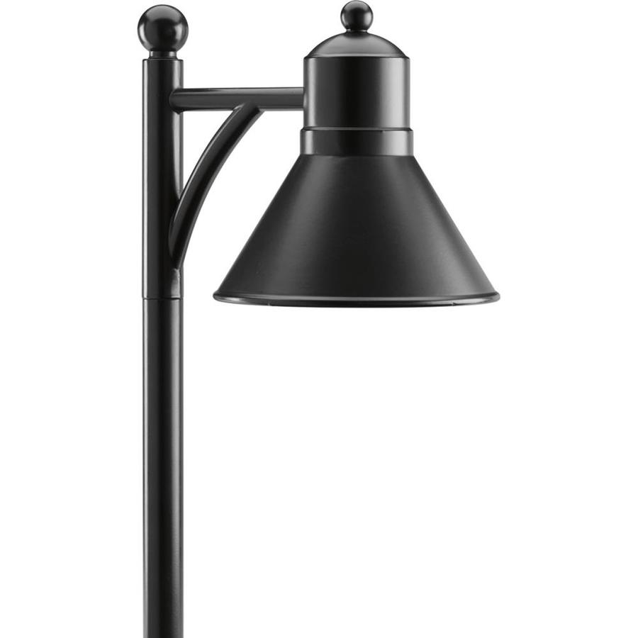 progress lighting led landscape 2x brighter 2 4 lumen 1 5 watt black low voltage led path light