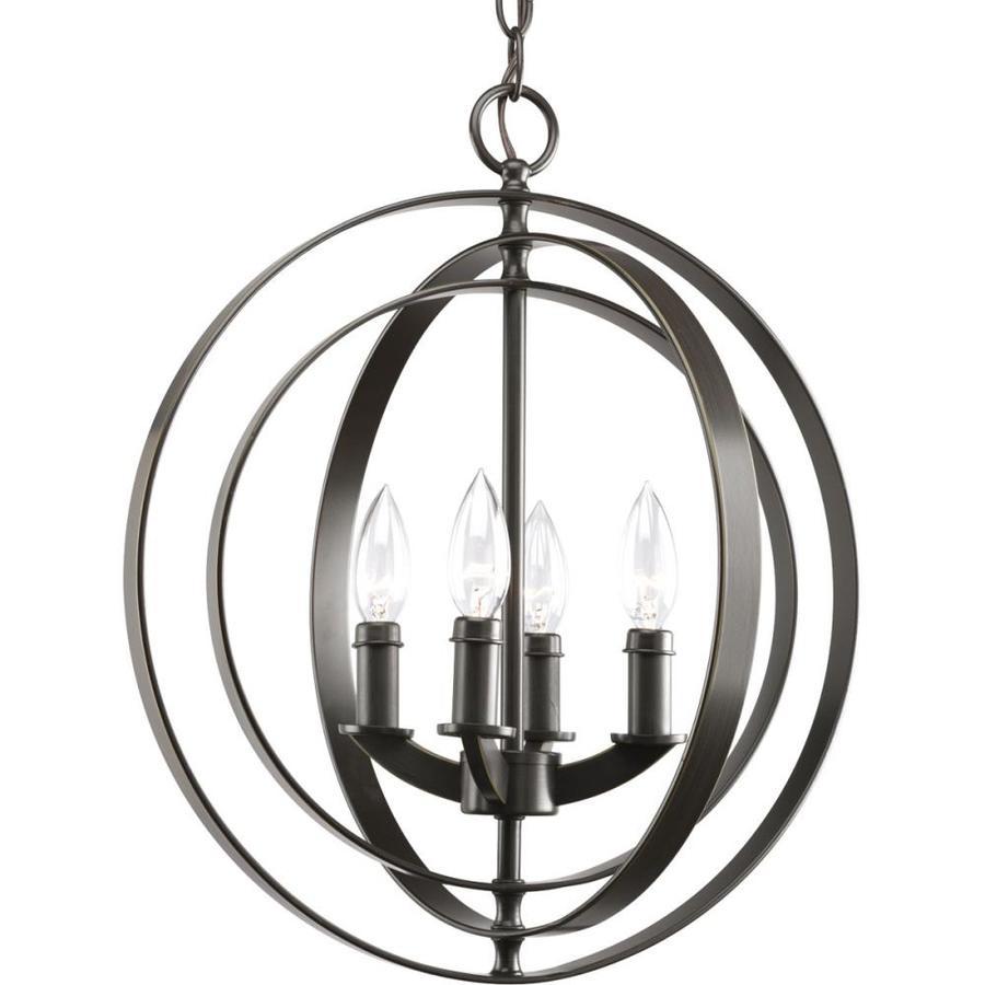 progress lighting equinox antique bronze traditional globe medium 10 22 in pendant light