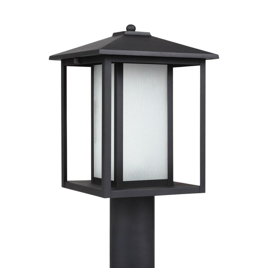 sea gull lighting hunnington 1 light outdoor black post light