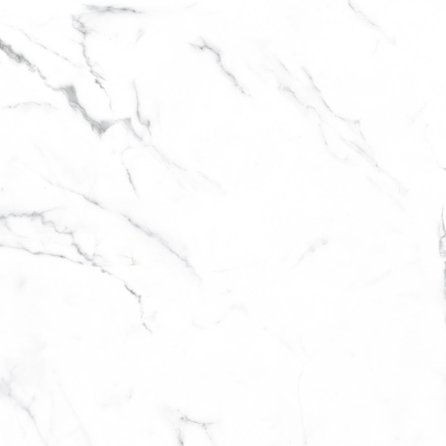 viena calacata 8 pack white 20 in x 20 in glazed ceramic marble look floor tile lowes com